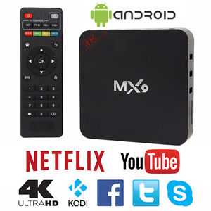 MX9 Smart Box TV Android