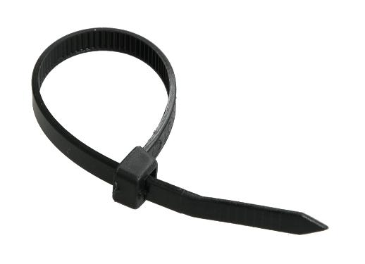Хомут 3,6х350 черные IEK