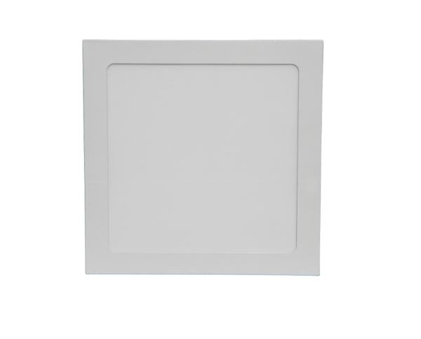 LED Спот накл. KVADRO/S 24w d300 6500K бел. MEGALIGHT