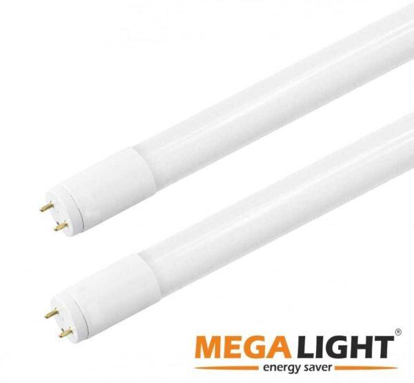 LED Лампа T8 18w 230v 4000K G13 MEGALIGHT