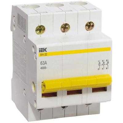 Выкл. нагрузки ВН-32 (3ф)  25А IEK (80)
