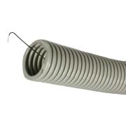 Труба ПВХ (гофрированная   с протяжкой)